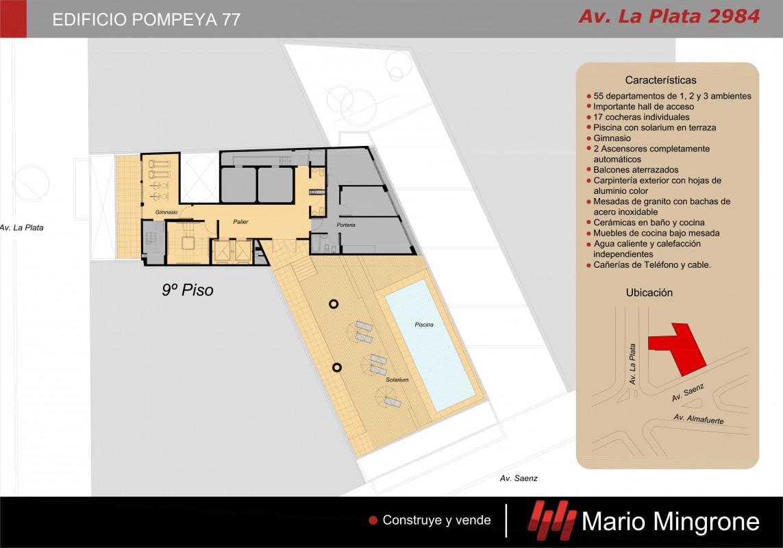 Mario Mingrone Inmobiliaria # Muebles Pompeya